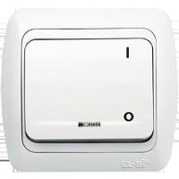 2 Polige Gerätenschaler mit 0 und I Funktion mit Led Licht