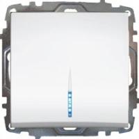 Ein und Ausschalter mit LED