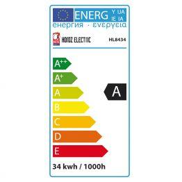 34 W WARMWEISS E27 ENERGIESPARLAMPE