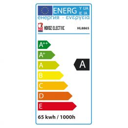 65 W WARMWEISS E27 ENERGIESPARLAMPE