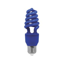 15 W BLAU E27 ENERGIESPARLAMPE