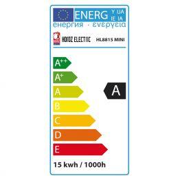 15W KALTWEISS E14 ENERGIESPARLAMPE