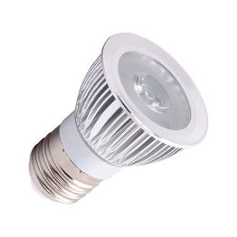 1x3 W POWER LED TAGESLICHT WEISS E27 LED LAMPE